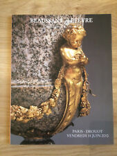 CATALOGUE VENTE BEAUSSANT LEFEVRE 18 JUIN 2010 DESSINS TABLEAUX ANCIENS MODERNES