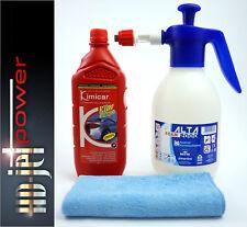 ALTA FOAM 2000 Schaumsprüher 2L + SNOW FOAM Shampoo + Mikrofasertuch +Messbecher