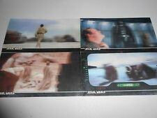 STAR WARS 3Di Cards. TOPPS  4  ESB 3DI WIDEVISION TRADING CARDS