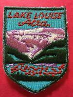 Patch, Lake Louise Alberta Canada Vintage Sew On Badge PB4