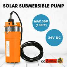 24V 70M Lift Submersible DC Solar Well Water Pump 30M Deep Small Noise HY2440-30