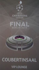 VIP Lounge Pass UEFA CL Finale 2015 Juventus FC - FC Barcelona (Coubertinsaal)