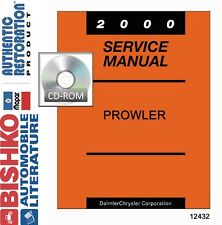 2000 Plymouth Prowler Factory Shop Service Repair Manual CD