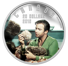 Star Trek 1 oz. Pure Silver Colored Coin – The Trouble with Tribbles (2016)