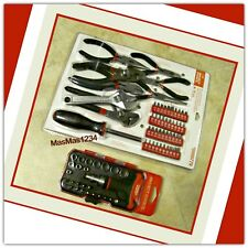 Project Source 76 Pc Pliers, Screwdrivers, Wrench, T-Handle, Bit Holder, Sockets