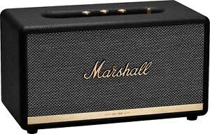 New Marshall Stanmore II Portable Wireless Bluetooth Speaker - Black