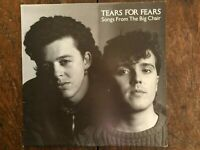 """Tears For Fears """"Songs From The Big Chair"""" Australian Pressing W/ Lyric Insert"""