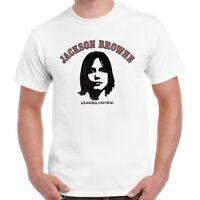 Jackson Browne Folk Rock Retro T Shirt 386