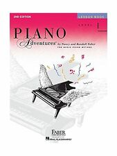 Level 1 - Lesson Book: Piano Adventures Level 1 Lesson Book Free Shipping