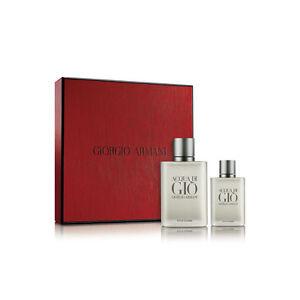Acqua Di Gio Pour Homme 3.4 oz / 100 ml edt and 1.oz / 30 ml edt Travel Size Set