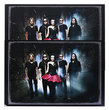 Evanescence Amy Lee Set of 2 Large Promotional Color Photos