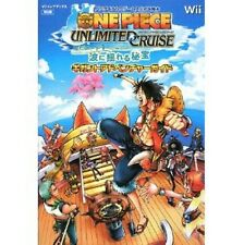 One Piece: Unlimited Cruise Episode 1 Gigant Adventure Guide Book /Wii