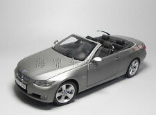 1:18 Dealer Edition BMW 335i E93 3 Convertible Die Cast Model Silver
