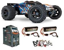 Traxxas E-Revo VXL 4WD Elektro MT BL blau/orange Version2018 TQi2.4GHz SPARSET