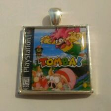 Retro Gaming Necklace And Keyring PlayStation Tomba Tombi PS1