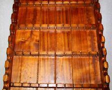 spoon rack spoon display wood spoon rack vintage rustic wood spoon display rack