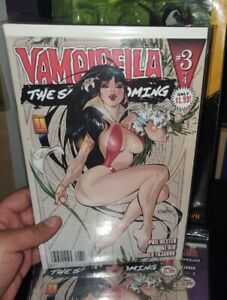Vampirella The Second Coming #3  VF Franchesco VAMPIRES Variant HOT COVER BLOOD✔