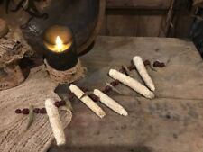 Primitive Christmas Garland Dried White Corn Cobs Dried Cranberries Okra Garland