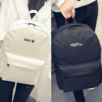 Womens Shoulder Bags Canvas Handbag Backpack Schoolbag Casual Laptop Rucksack