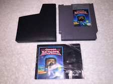 Captain Skyhawk (Nintendo Entertainment System 1989) NES Game, Manual, Sleeve Ex