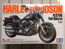 New TAMIYA Harley Davidson FLSTFB Fat Boy Lo Model Kit 1/6 From Japan