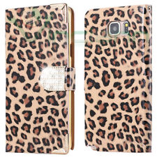 Custodia cover Booklet Elegance per Samsung Galaxy Note 5 N920i case Leopardata