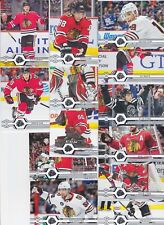 2019-20 Upper Deck Team Set CHICAGO BLACKHAWKS (13) Free shipping 2019/20 UD