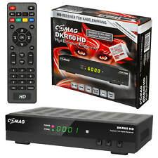 HDTV HD HDMI Kabelreceiver Digital KABEL Receiver Comag DKR60 DVB-C DKR USB TOP