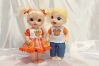 Dress Outfit fits 12 inch Baby Alive Doll Clothes Lot Girl Boy