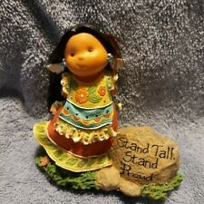 """Enesco Friends of the Feather #926183 2001 Mib """"Stand Tall, Stand Proud"""""""
