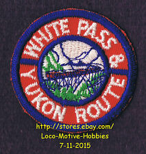 LMH PATCH Badge  WHITE PASS & YUKON ROUTE Railroad  WPY WP&Y WP&YR Railway  used