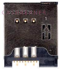 SIM Connector tarjetas lectores soporte Card Reader de Sony Ericsson Xperia Play