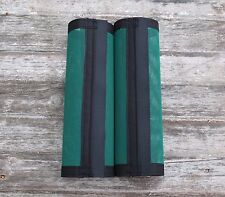 Fly Protection Leg Wraps /Leggings For Horses, Straight Fly Boots Set Of 2,Green