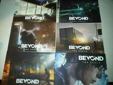 BEYOND TWO SOULS Limited Edition Art Cards *RARE* PS3