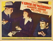 I Cover the Waterfront 1933 Claudette Colbert , Ben Lyon Drama Romance DVD