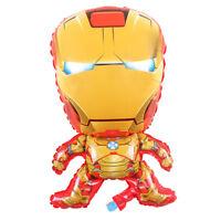 "IRONMAN Superhero Marvel AVENGERS LARGE Foil Balloon Helium Party Birthday 28"""