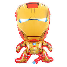 IRONMAN Superhero Marvel AVENGERS LARGE Foil Balloon Helium Party Birthday 28""