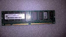 Memoria SDRAM Micron MT8LSDT864AG-10EB4 64MB PC100 100MHz CL2 168 Pin