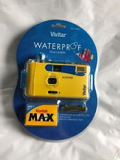 Vivitar WATERPROOF 35mm Camera MARINER With 2004 400sp. film UN-OPENED FREE SHIP