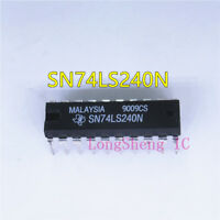 5PCS SN74LS240N OCTAL BUFFERS AND LINE DRIVERS WITH 3-STATE OUTPUTS DIP20 new