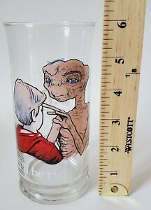1982 Pizza Hut E.T. ET the extra terrestral collectible glass cup