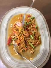 DIY New Thai Style Som Tam Papaya Salad Spicy Freeze Dried Easy Food-less spicy