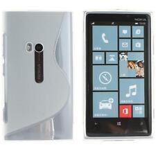 Housse etui coque silicone Transaparent pour Nokia Lumia 920  + Film ecran