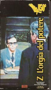 Z - l'orgia del potere (1969) VHS (NO DVD) spedizione tracciata