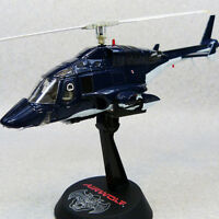 AOSHIMA AIRWOLF 1/48 Normal TV Cobalt Blue Electric Rotor METAL DIECAST MODEL