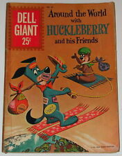 Vintage Comic Book Around the World With Huckleberry and his Friends No. 44