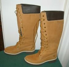 WOMENS TALL TIMBERLAND BOOTS SIZE 7 WHEAT