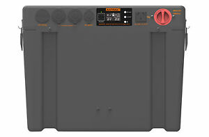 ANTPAK BP-800 BATTERY BOX DUAL BATTERY ISOLATOR INVERTER DC DC CHARGER SOLAR AGM