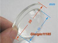 US Stock Diameter 60mm Glass Lens For 1w 3w 5W 9W 10W 30W 50W 100WHigh Power LED