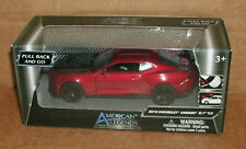 1/39 Scale 2018 Chevrolet Camaro ZL1 1LE Diecast Model Car - MotorMax 73676 Red